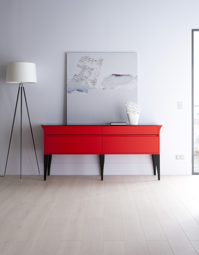 commode rouge alice