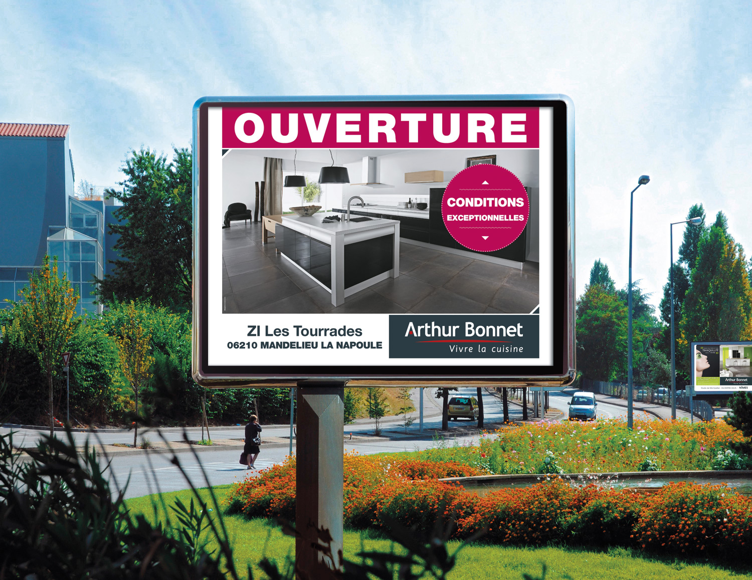 ouverture magasin cuisines